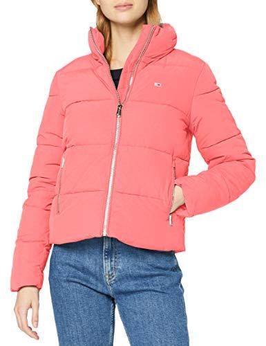 Tommy Jeans Damen TJW MODERN Puffer Jacket Jacke, Glamour Pink, 38