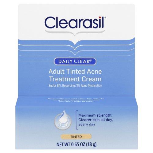 Clearasil Daily Clear Tinted Adult Treatment Cream: 0.65 OZ
