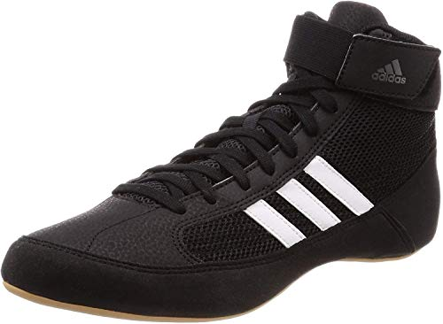 Adidas Unisex Adults' AQ3325 Wrestling Shoes, Black (Black), 8 UK 42 EU