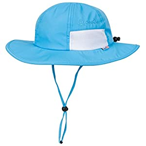 SwimZip Kid's Sun Hat – Wide Brim UPF 50+ Protection Hat for Baby, Toddler, Kids
