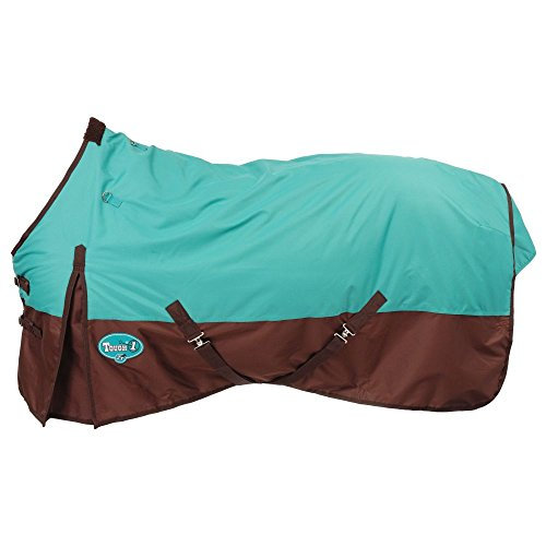 Tough-1 600 Denier Turnout Blanket 72In Turquoise