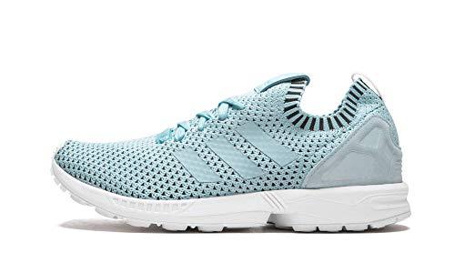adidas Originals Mens ZX Flux Primeknit Fitness Sneakers Blue 9 Medium (D)