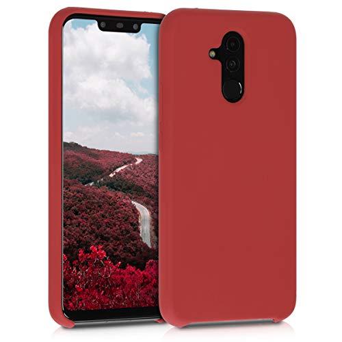 kwmobile Cover per Huawei Mate 20 Lite - Cover Custodia in Silicone TPU - Back Case Protezione Cellulare Rosso Scuro