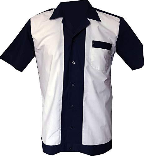 1950s/1960s Rockabilly ,Bowling, Retro, Vintage Men's Shirt (Large)