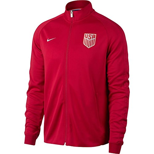 Nike USA Mens NSW N98 Authentic Track Jacket [Gym RED] (L)