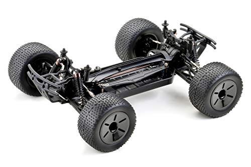 RC Auto kaufen Truggy Bild 4: Absima Hot Shot Absima 1:10 RC Modellauto AT3.4 Truggy mit Brushed Elektroantrieb und Allradantrieb als Bausatz, Rot, Grau, Schwarz*