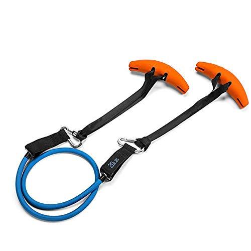 modernslt Fitnessbänder Exerecise Resistance Band Griffgriffe Gym Training Grip Strength Sling Trainer für Klimmzugstangen Hanteln und Ziehmaschinen