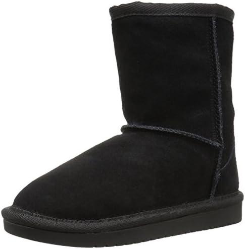Koolaburra by UGG unisex child Koola Short Fashion Boot Black 2 Little Kid US product image