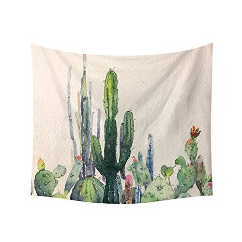 mi ji Tapicería de la Pared del Desierto Tropical de la Planta de Cactus Saguaro Pared Tapiz Tinta Pared Colgantes del Arte para la decoración casera Style-5
