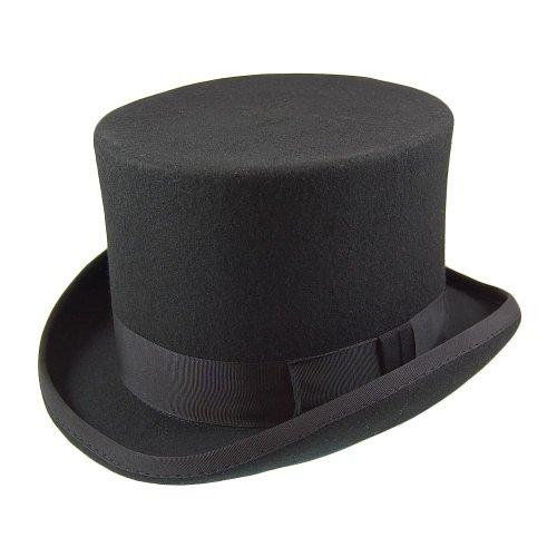 Christys London Village Hats Damen Visor Schwarz Schwarz