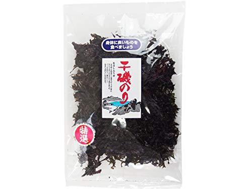 干磯のり 16g (国産いそ海苔)国産のりを原藻のまま乾燥させました。磯の香りが広がる逸品(黒海苔 イソノリ)お吸い物 味噌汁 ラーメン うどん