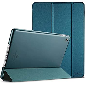 ProCase iPad 10.2 Case 2020 iPad 8th Generation / 2019 iPad 7th Gen Case Slim Stand Hard Back Shell Protective Smart Cover Case for iPad 10.2 Inch -Teal