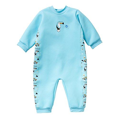 Splash About Traje de Neopreno Unisex para niños, cálido en uno, Unisex niños, Traje de Neopreno para bebé Warm In One, WIONOAL, Arca de Noé, 6-12 Meses