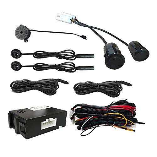 Huante Sistema de Monitoreo de Punto Ciego del AutomóVil Sensor UltrasóNico Cambio de Carril InversióN de Distancia BSD Asistencia Cambio de Carril