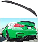 NO7RUBAN Rear Spoiler Fits for 2012-2017 BMW F30 3 Series Sedan & 2014-2017 F80 M3 Sedan Trunk Spoiler Wing Carbon Fiber Style