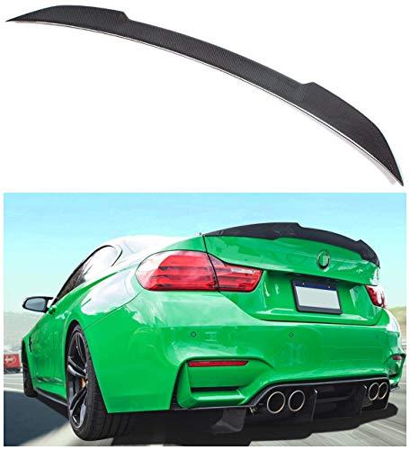 NO7RUBAN Rear Spoiler Fits for 2012-2017 BMW F30 3 Series Sedan & 2014-2017 F80 M3 Sedan M4 Type Trunk Spoiler Wing Carbon Fiber Style