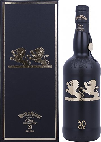 Whyte & Mackay 30 Year Old Oldest Blended Scotch Whisky mit Geschenkverpackung (1 x 0.7 l)