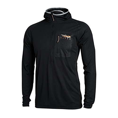 Buy Discount SITKA Gear Lightweight Hoody Sitka Black X Large - Discontinued