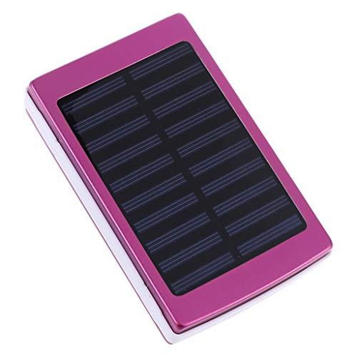Yushu (No batería 18650 cargador de banco de energía solar DIY caja caja LED compatible para Xiao-mi Huawei Moblie teléfono Power Pover Banco 20000mah