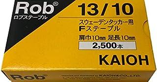 Robステープル13/10 2,500本 小箱