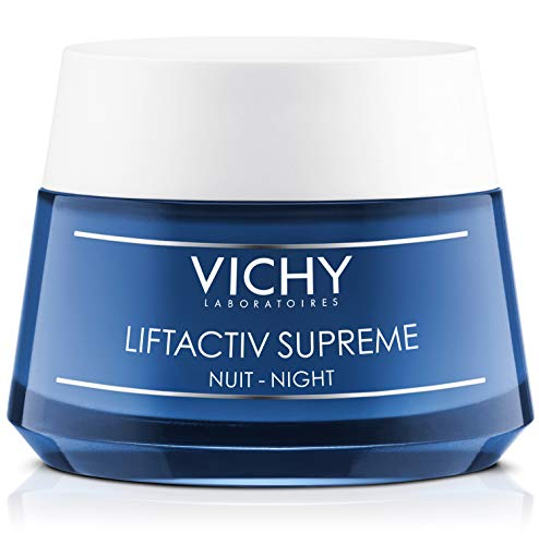 Vichy LiftActiv Supreme Night Cream, Anti Aging Face Cream with...