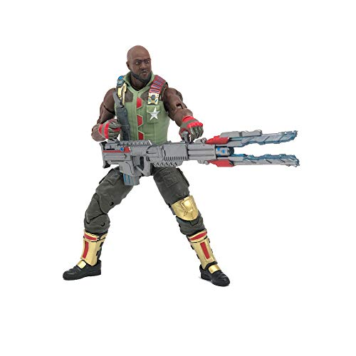 Hasbro G.I. Joe Classified Series Roadblock Action Figure 01 Collectible Premium Toy with Multiple Accessories 6-Inch Scale with Custom Package Art (Deco May Vary)