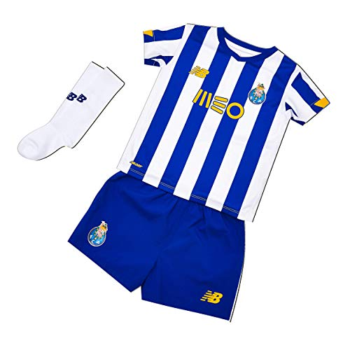 New Balance FC Porto Home Infant Kinder-Set, Nachbildung, Kinder, Blau, 4-5