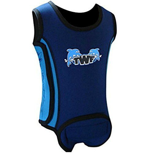 TWF Baby Wetsuit Wrap - Dolphin diseño 12-18 meses