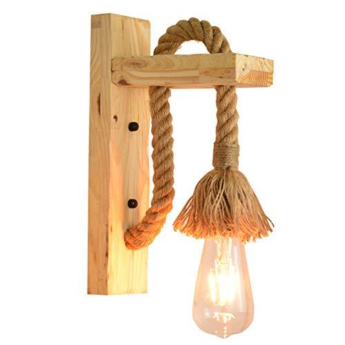 WISKEO Lámpara de Pared SalóN Sin Bombilla Apliques de Pared Rusticos Interior Art Deco Baratos No Incluye Bombilla Dormitorio BañO A