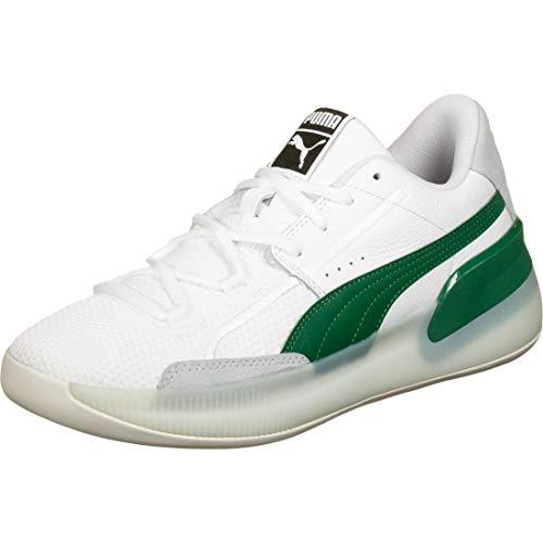 Puma Clyde Hardwood Schuhe white-green