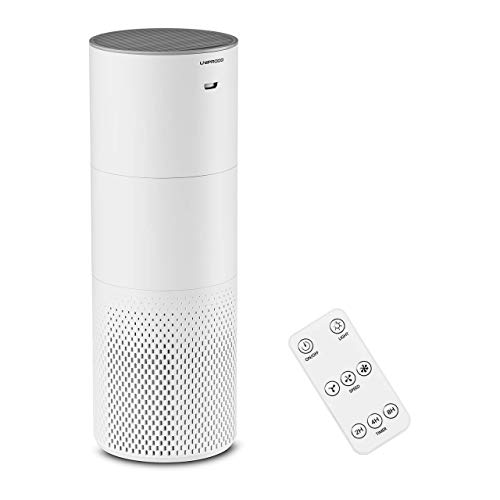 Uniprodo Air Humidifier Air Purifier Humidifying Machine Remote Control Timer 1.8 L UNI_HUMIDIFIER_05 (23W, CADR 130, Room Size ? 16m2, ABS Plastic, Timer 2/4/8h)