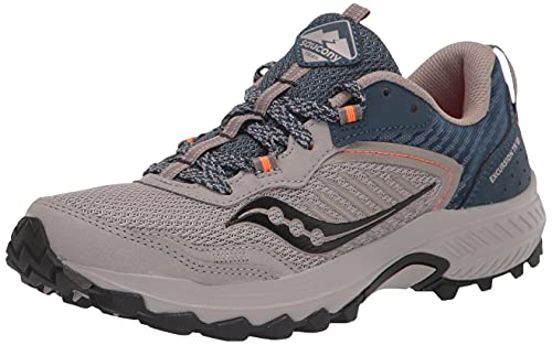 Saucony Men's Excursion TR15 Trail Running Shoe, Smoke/Space, 12