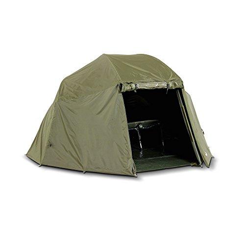 Lucx® Überwurf/Winterskin/Overwrap für Schirmzelt/Brolly/Shelter/Angelzelt/Karpfenzelt (Kein Zelt nur Überwurf)