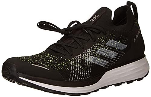 adidas Terrex Two PRIMEBLUE, Zapatillas de Trail Running Hombre, NEGBÁS/FTWBLA/Amasol, 44 2/3 EU
