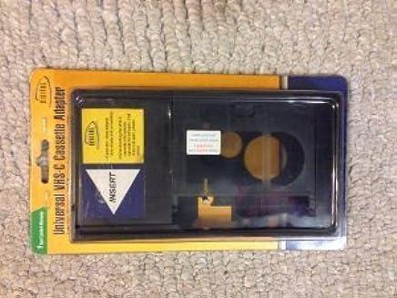 Amazon.com: Digital Concepts Motorized Universal VHS-C To VHS Cassette Adapter: Electronics