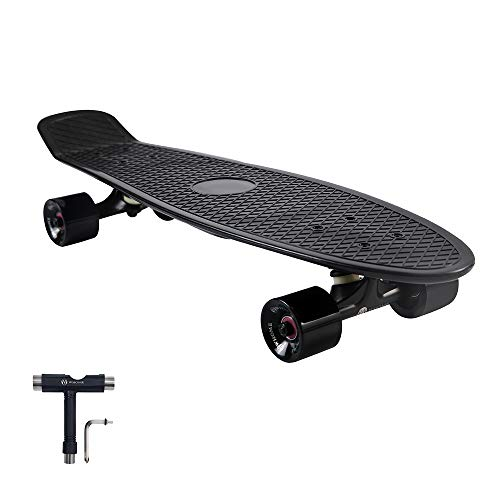 WHOME Skateboard Complete for Adults and Beginners - 27 inch Cruiser Skateboard Complete for Cruising Commuting Rolling Around T-Tool Included