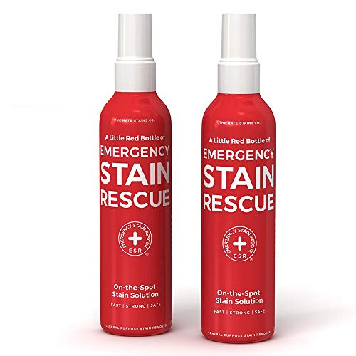 Emergency Stain Rescue Stain Remover Spray Carpet Stain Remover Spray (2 Pack - 4oz Spray Bottles)