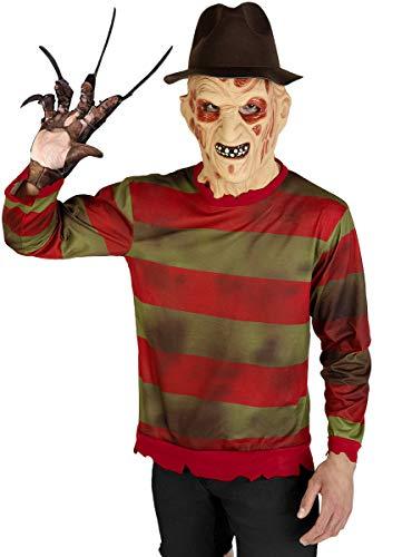 Funidelia | Freddy Krueger Pullover - A Nightmare on Elmstreet OFFIZIELLE für Herren Größe XL ▶ Freddy, Horrorfilm, Nightmare - Mörderische Träume
