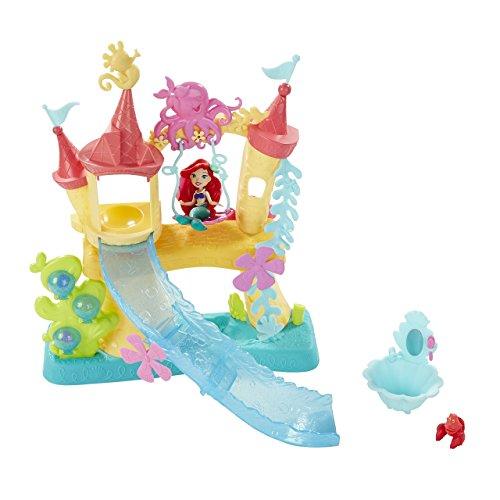 Hasbro Disney Prinzessin B5836EU4 - Disney Prinzessin Little Kingdom Arielle\'s Wasserschloss, Puppen Schloss
