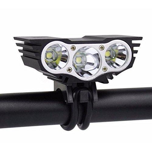maiyuan Nueva SolarStorm X33modos 5000lúmenes 3x CREE U2XM-L Led Faro Luz bicicleta faro camping bicicleta + batería Pack + cargador