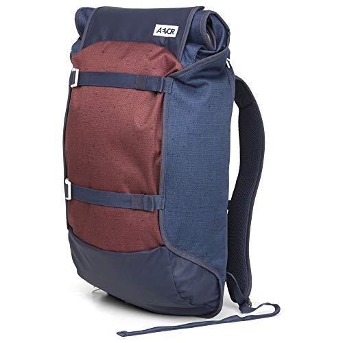 AEVOR Trip Pack - erweiterbarer Rucksack, ergonomisch, Laptopfach, wasserabweisend - Bichrome Iris