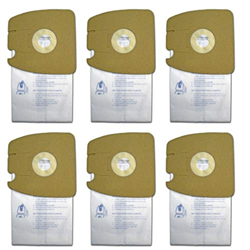 6 (Six) Eureka MM Vacuum Bags Replaces 60295C Fits Mighty Mite 3670 3680 Series Cannister Vacuums