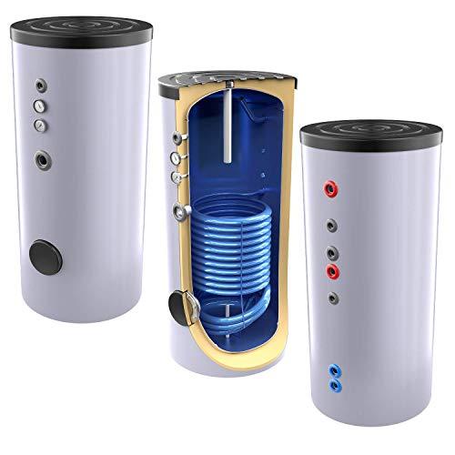 Neue Generation 300 Liter Solarspeicher, Warmwasserspeicher mit 1 elliptischen Wärmetauscher