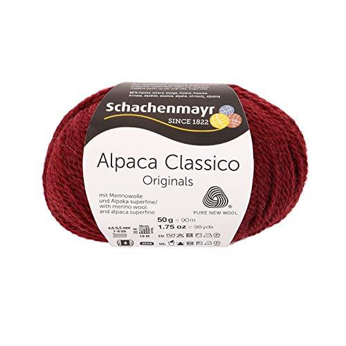 Schachenmayr Handstrickgarne Schachenmayr Alpaca Classico, 50G Bratapfel