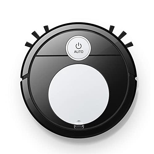 WBYY Robot Aspirapolvere, Aspirazione Potenza, Controllo App, Mappatura Intelligente, Silenzioso, per Pulizia Domestica/Peli Animali/Capelli/Polvere,Argento