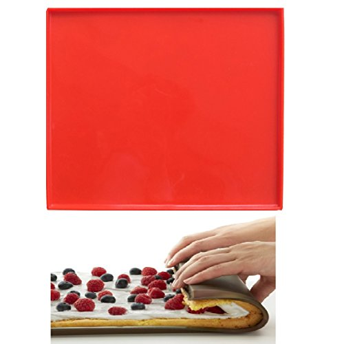 Swiss Roll Mold- Silicone Baking Sheet Mat Jelly Roll Pan Flexible Baking Tray Pastry Mat Cookies Mold