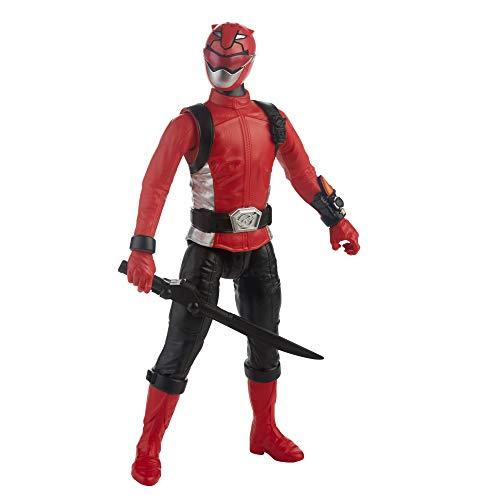 Power Rangers Beast Morphers Roter Ranger, 30 cm große Actionfigur