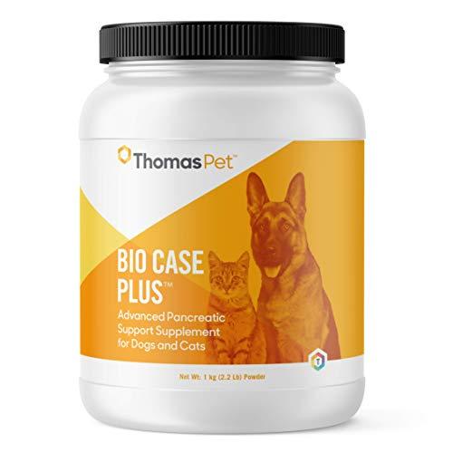 Thomas Pet Bio Case Plus - Pancreatic Enzymes for Dogs & Cats - Digestive Supplement - (1 kg (2.2 Lb), Powder)