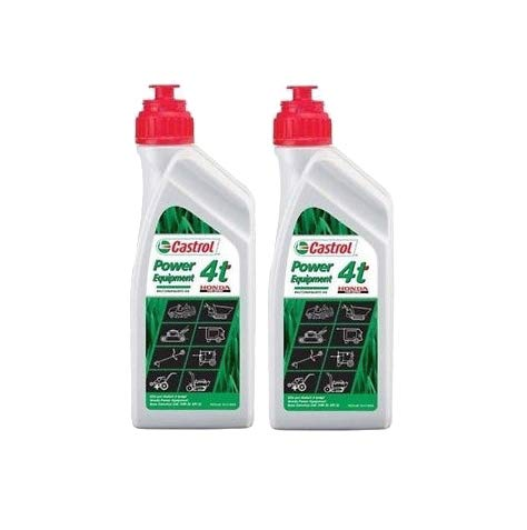 idros Castrol Aceite para motores de 4 tiempos Honda 4T SAE 10W-30 API SL – 2 unidades