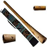 australian treasures - didgeridoo: natural wood con borsa didgeridoo | 120cm